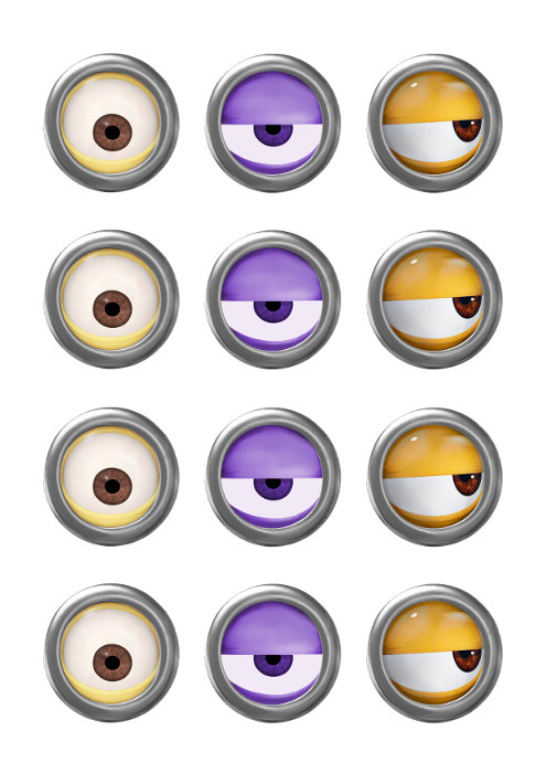 Eyeball clipart minion Images  and images Santa