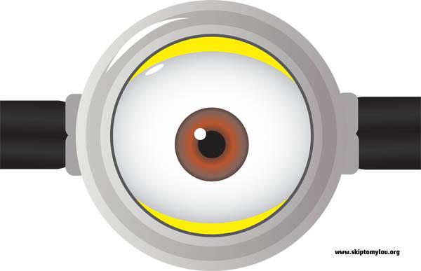 Eyeball clipart minion Eyes Lou Minion To Skip