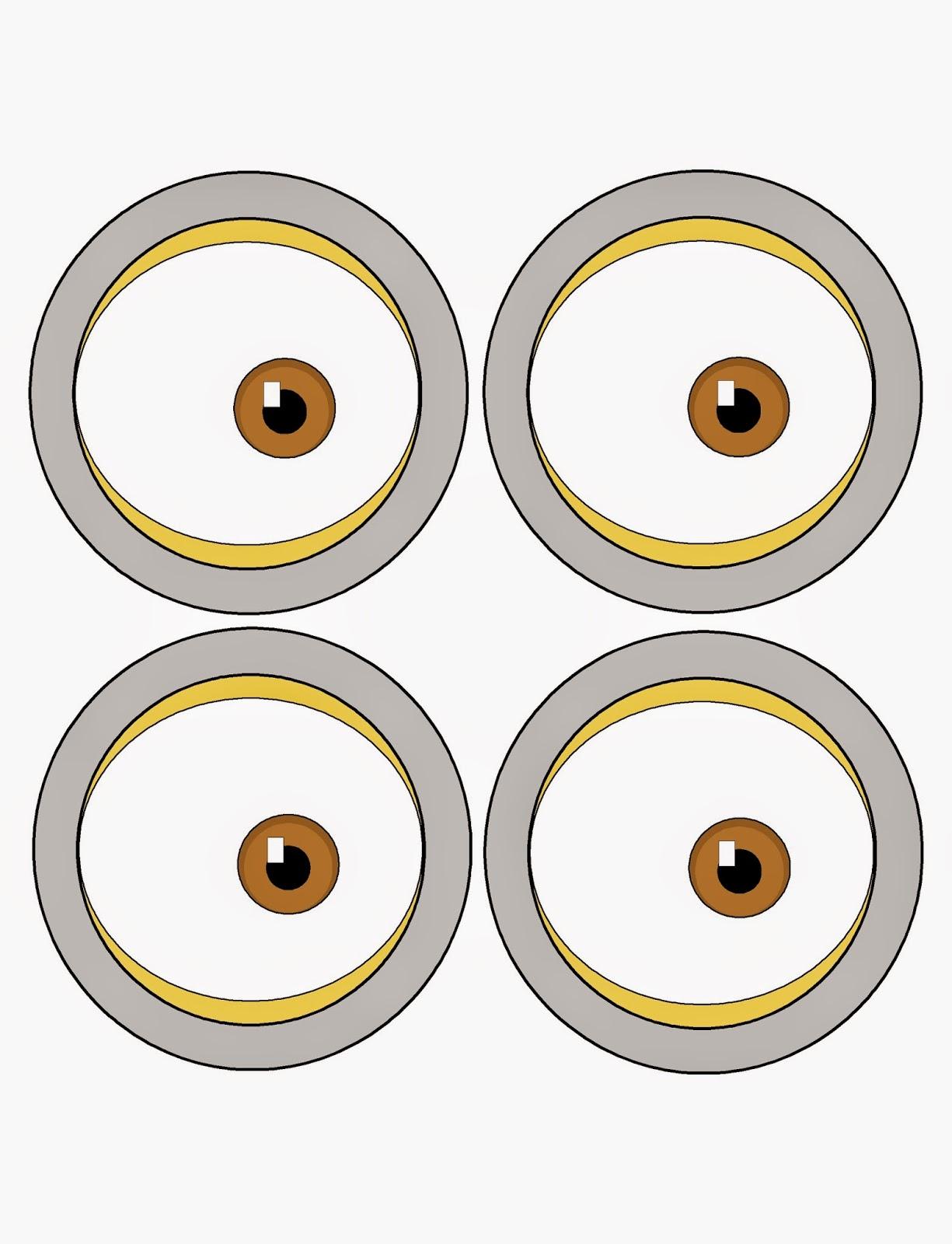 Eyeball clipart minion Minion Minion Clipart (48+) template