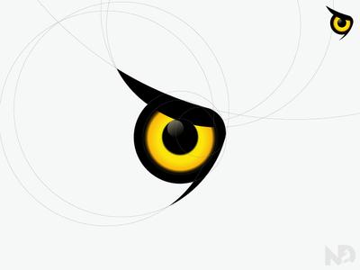 Eyeball clipart owl eyes Nukul Owls NextDesigns Dribbble eye