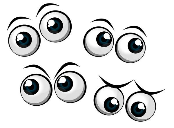 Eyeball clipart pretty eye Free Cartoon Clip Clipart library