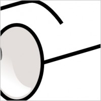 Eyeball clipart round glass Free Panda Images Clipart With