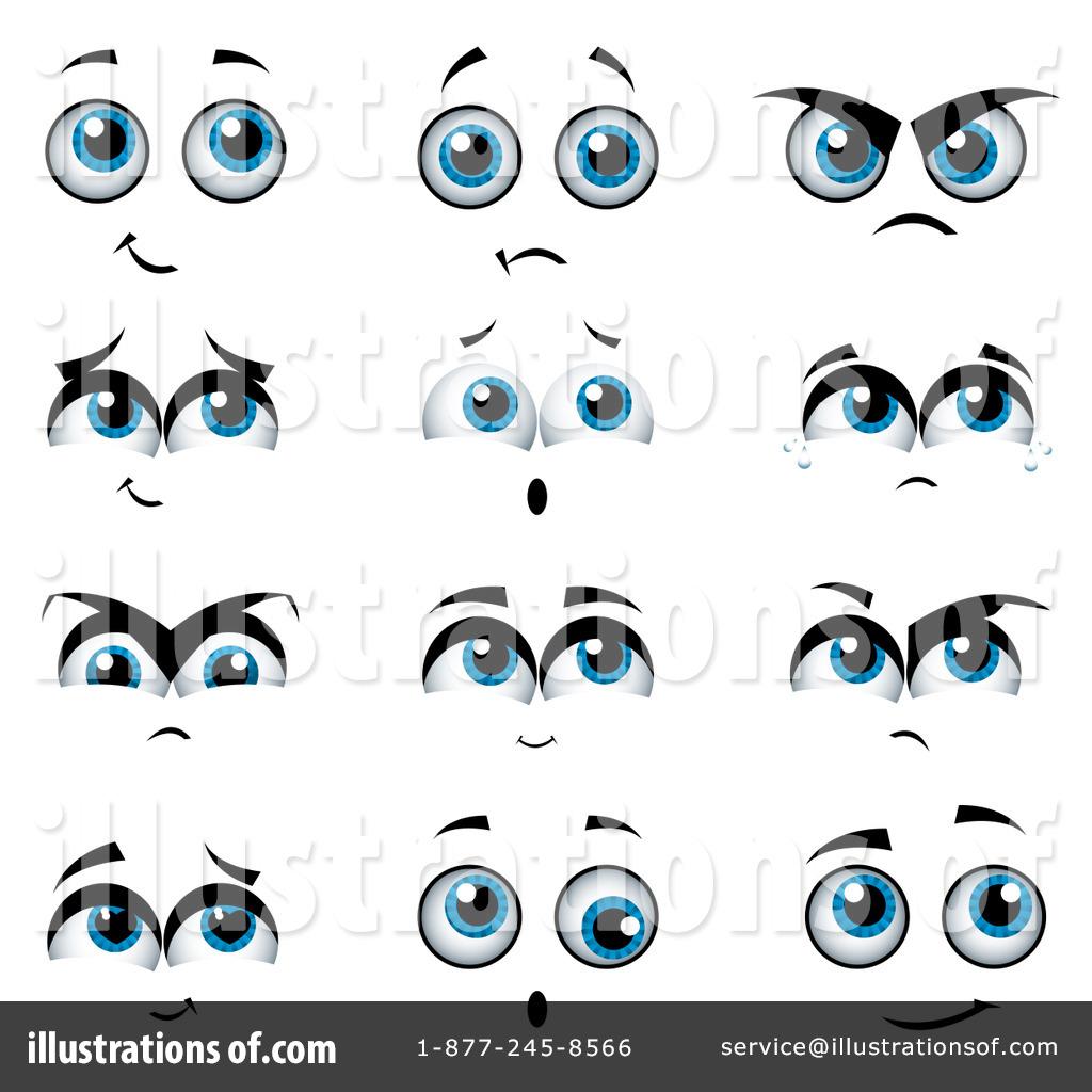 Eyeball clipart sad eye By Clipart Eyes MilsiArt (RF)