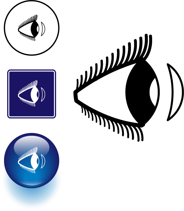 Eye clipart side view #9