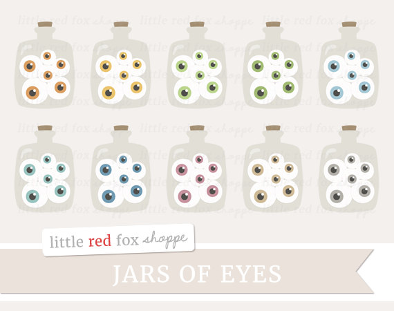 Eyeball clipart small eye Use Eye Macabre Jars of