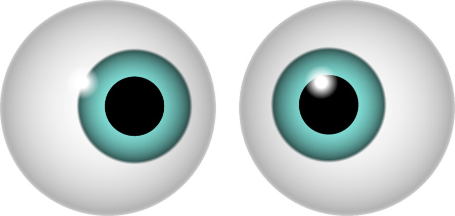 Red Eyes clipart googly eye #10