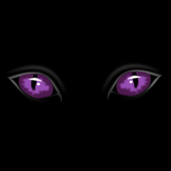 Red Eyes clipart menacing #1