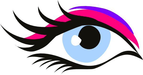Pink Eyes clipart long eyelash Eyelash%20clipart Eyelash Clipart Free Panda