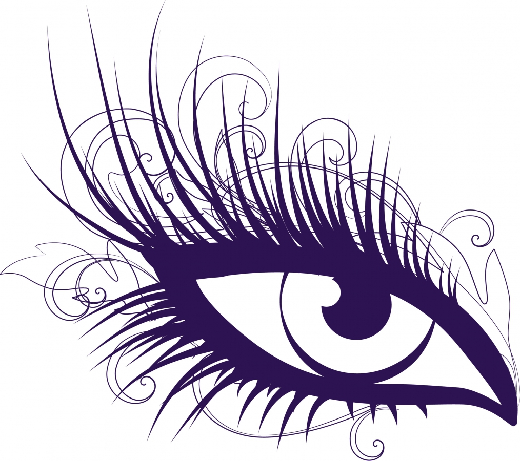 Pink Eyes clipart long eyelash Hair And Clipart Clipart Reading