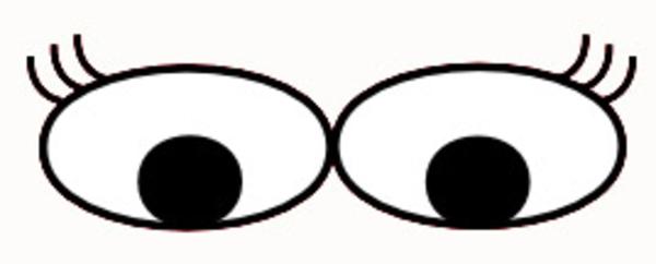 Eyelash clipart animated Clipart Eyes Masteri Cop Eyes