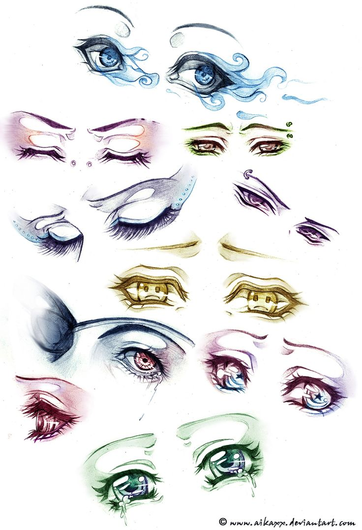 Blue Eyes clipart worried eye Com Pinterest and anime deviantart