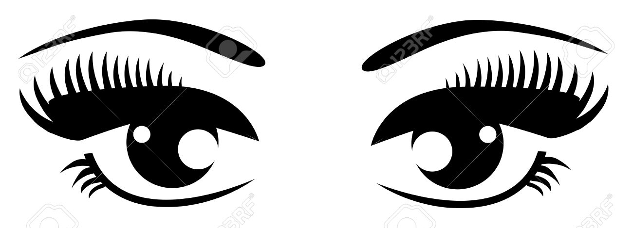 Eyeball clipart closed eye And black Eyes Eyes