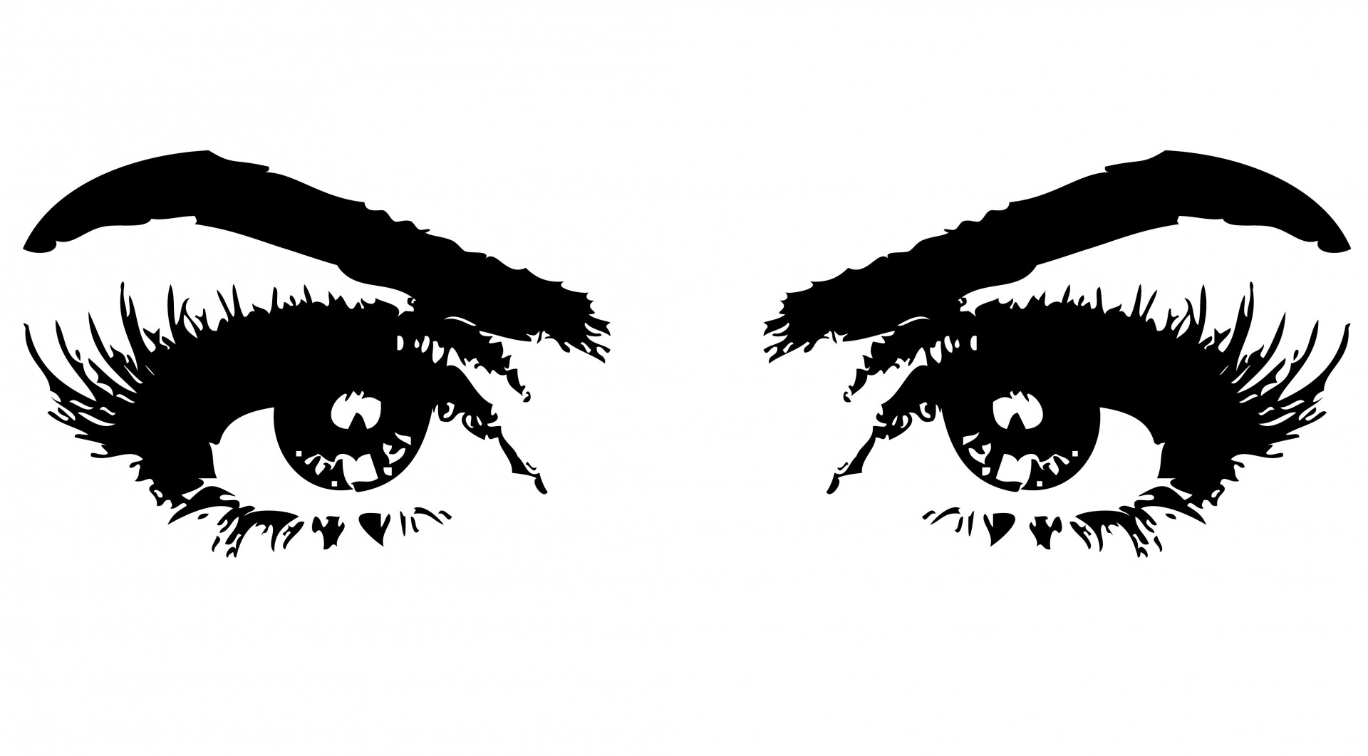 Hazel Eyes clipart female eye Eyes and female Eyes black