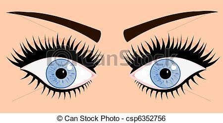 Blue Eyes clipart woman eye Art eyes eyes woman blue