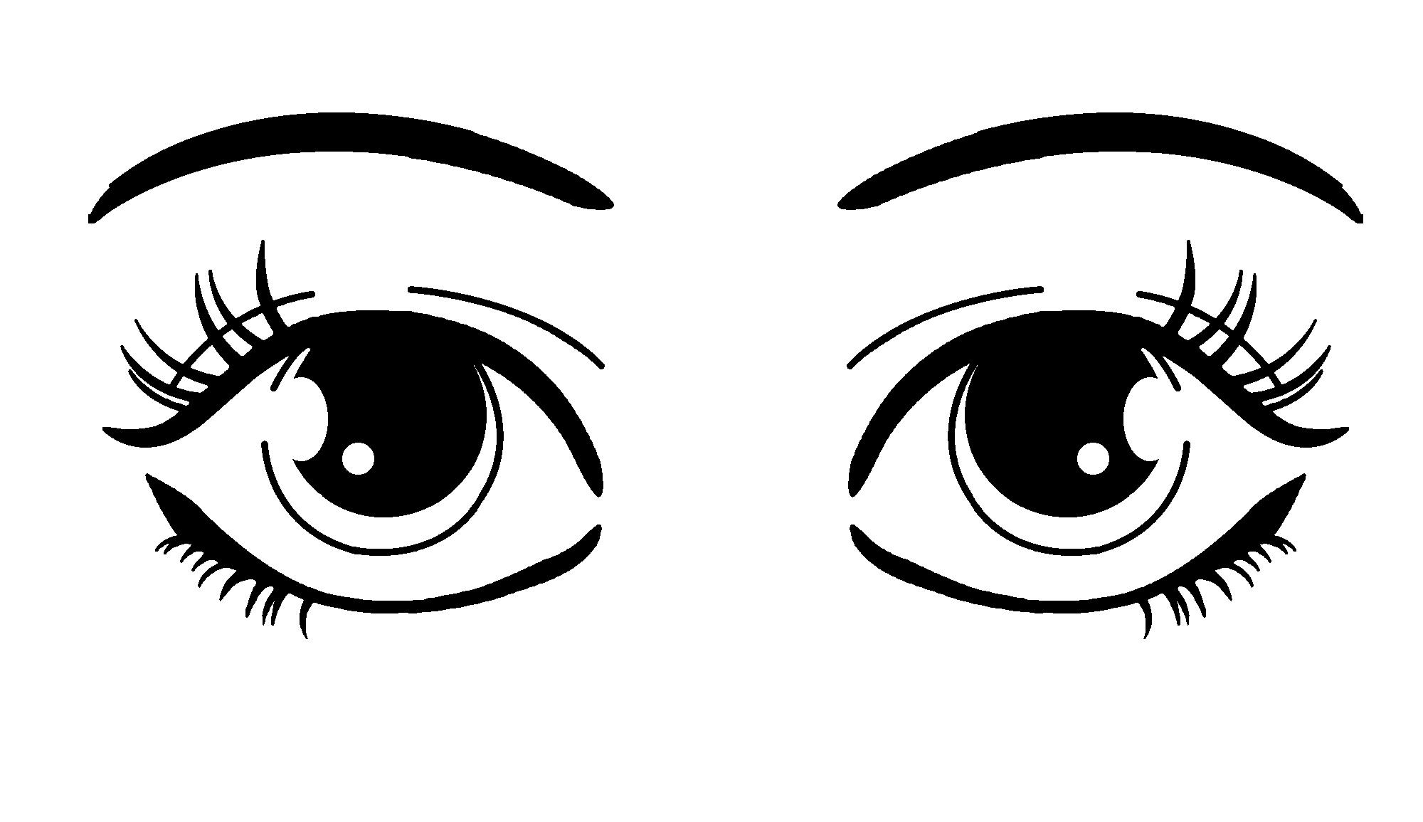 Hazel Eyes clipart two Download Free Art Cartoon Cliparts