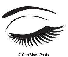 Brown Eyes clipart brow Clipart Makeup Closed Closed Eyes
