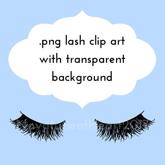 Eyelash clipart drawn Clip Eyelash Clip Art Transparent