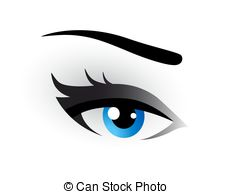 Eyelash clipart eye makeup Clipart Vector Art Eyes Graphics