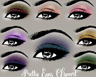 Eyelash clipart eye makeup Closed princess Clipart Pretty makeup