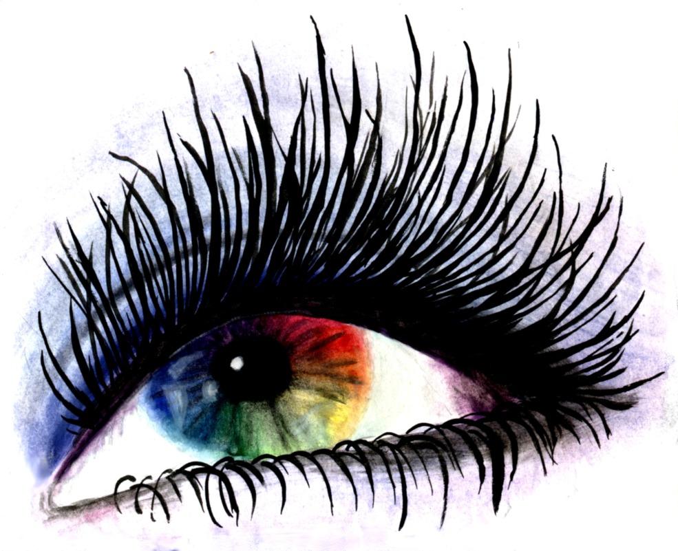 Eyelash clipart eye makeup Vector Illustrations Makeup Eye makeup