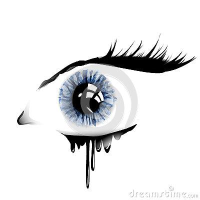 Blue Eyes clipart eye tear Clipart Clipart Eye Vectors Pie