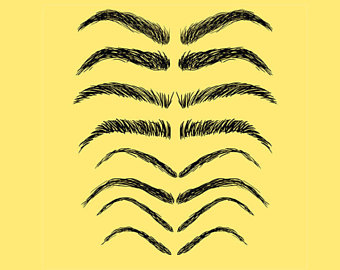 Eyelash clipart eyebrow Clip Clipart Clipart Art PNG