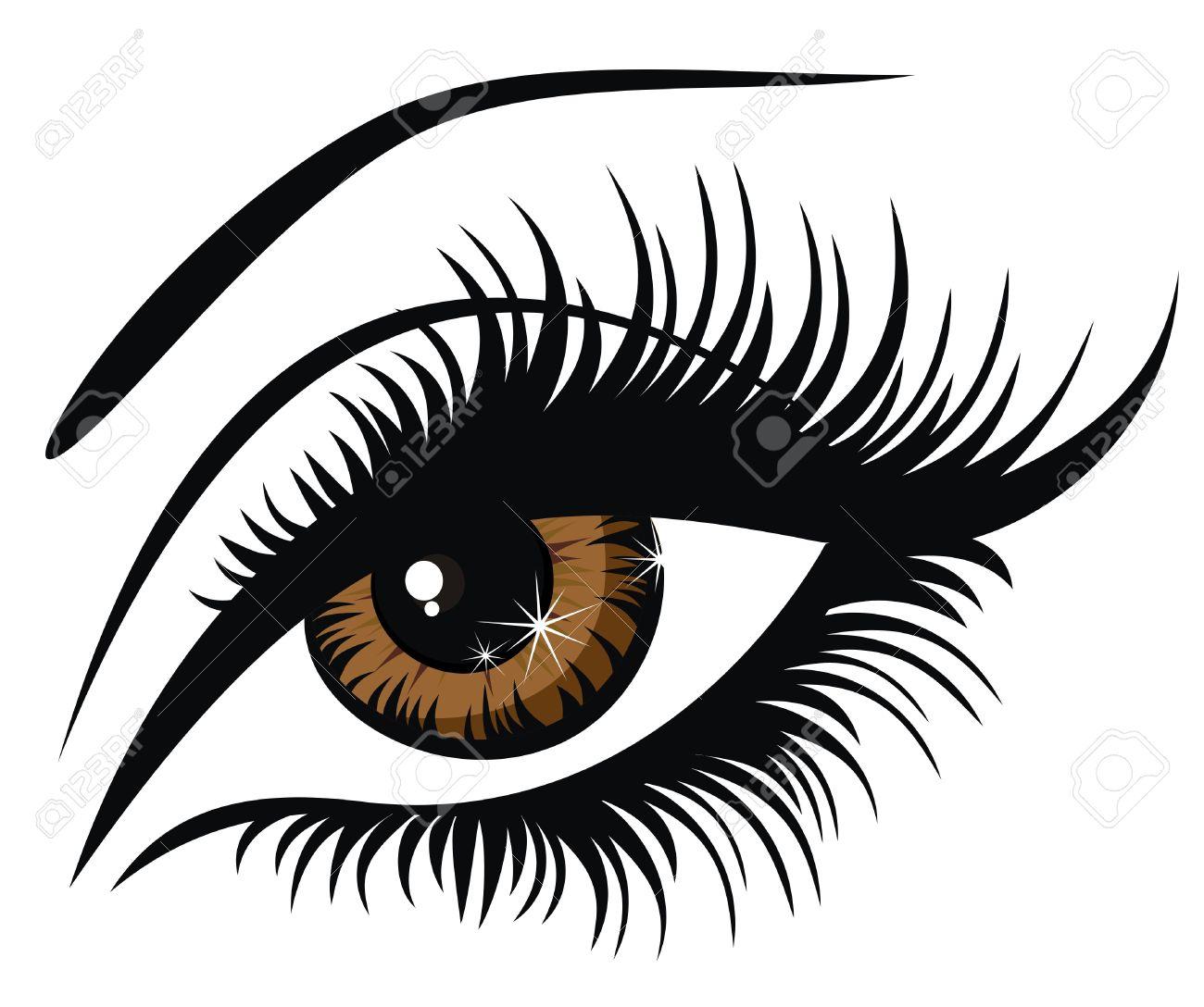Eyelash clipart false eyelash Google clip eyelash clip art
