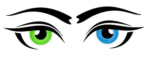Pink Eyes clipart eyeball Free #27733 green eye clip