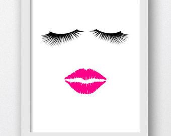 Lips clipart eyelash Kiss Kissing Lips Lips Kissable