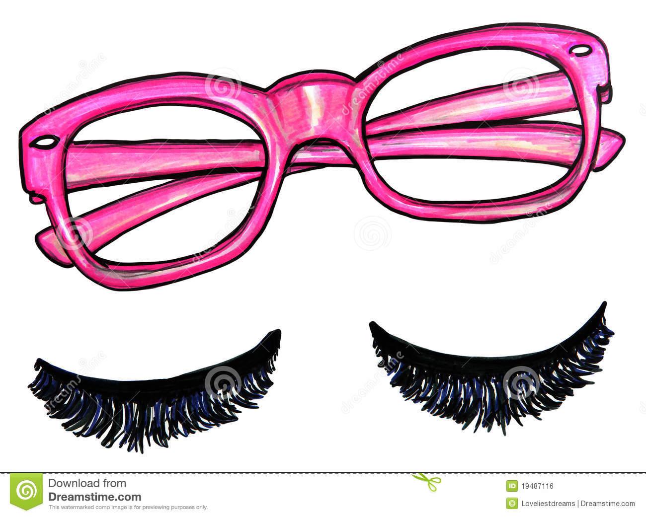 Eyelash clipart pink Images Clipart Clipart Panda Free