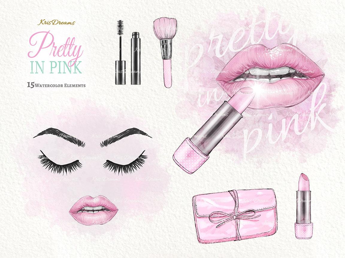 Eyelash clipart pink OFF  Art 50% Makeup