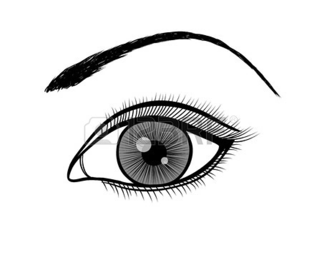 Eyeball clipart drawn Clipart — Free Clipart Eye