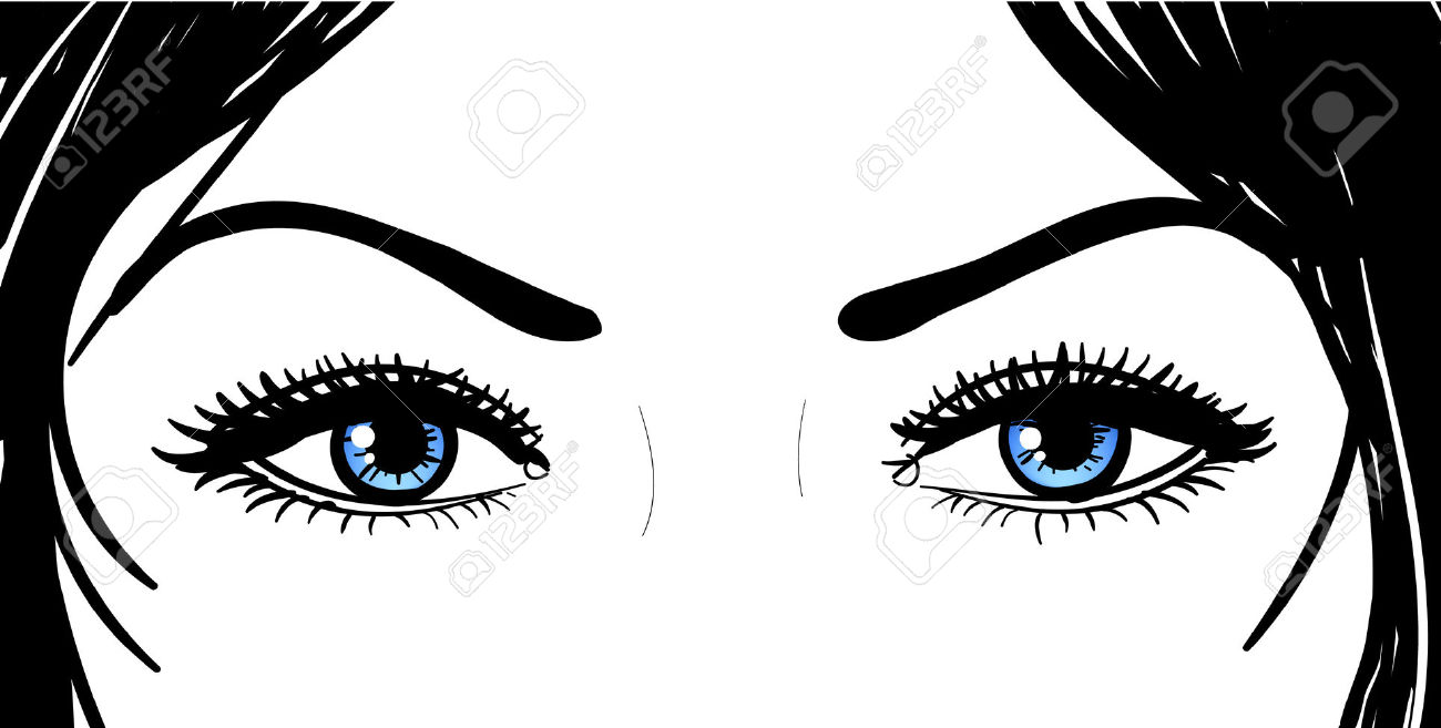 Hazel Eyes clipart female eye And Eyes Black People White