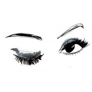 Eyelash clipart cartoon female On Pinterest Lashes Simple 25+