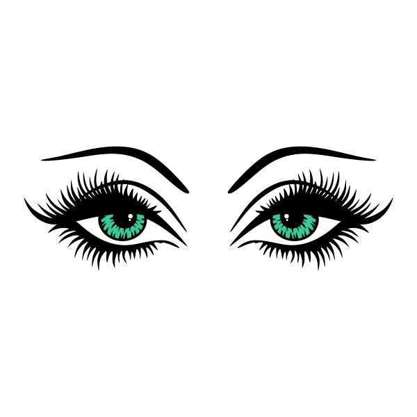 Eyelash clipart sophisticated woman Lashes Design Eye Available Design