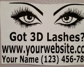 Eyelash clipart younique Younique Decal Lashes Younique Custom