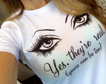 Eyelash clipart younique Shirt They're Inspired Younique Swag
