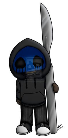 Eyeless Jack clipart Free XD the thingy Eyeless