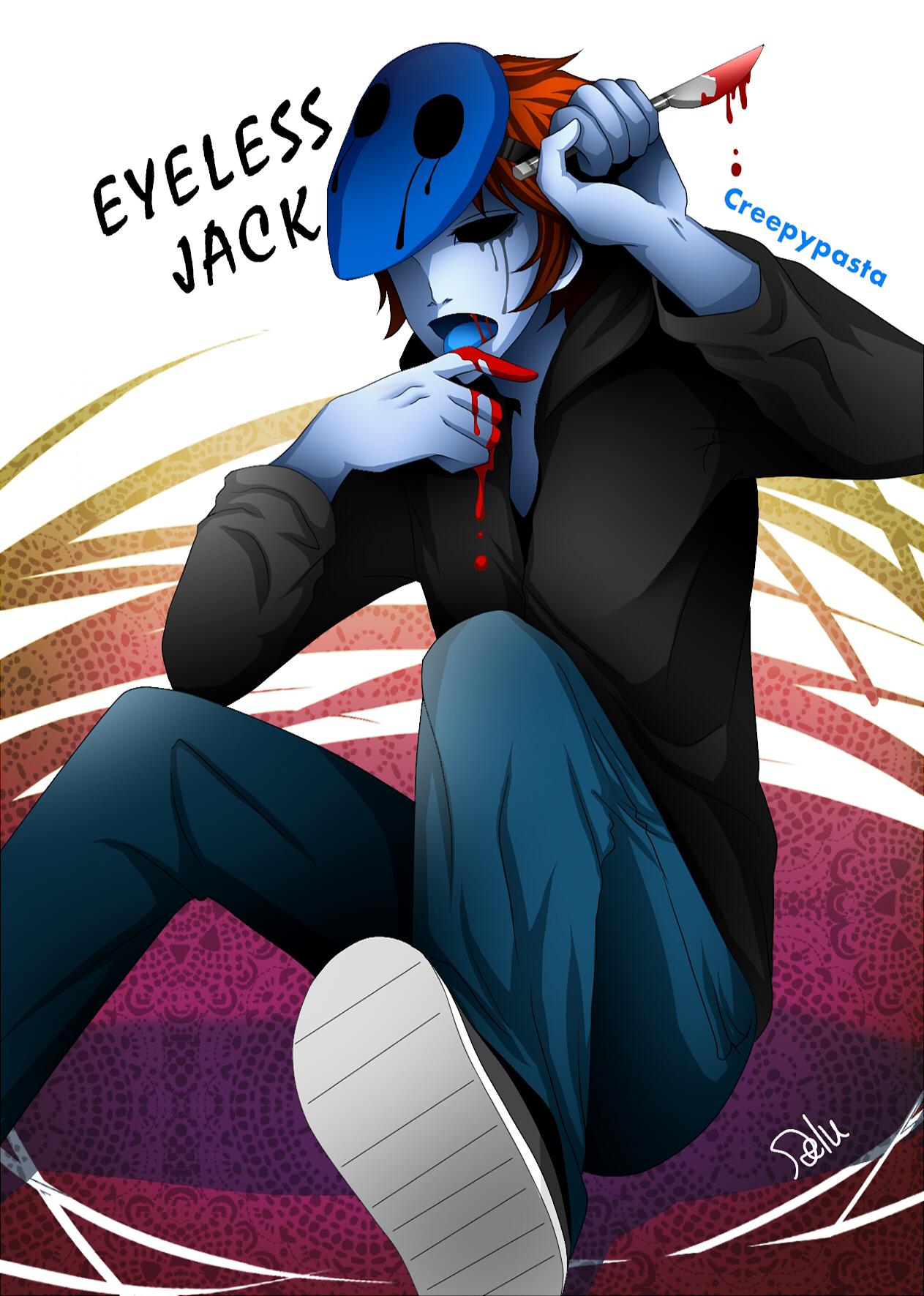Eyeless Jack clipart cartoon Eyeless Jack Board Zerochan Board