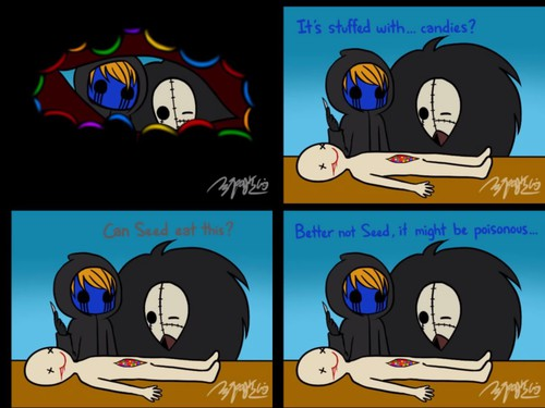 Eyeless Jack clipart funny And We funny image ·