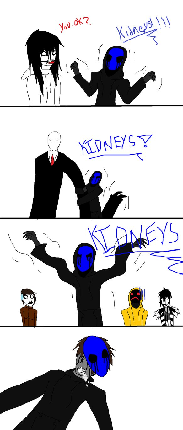 Eyeless Jack clipart funny Calm down by Eyeless on