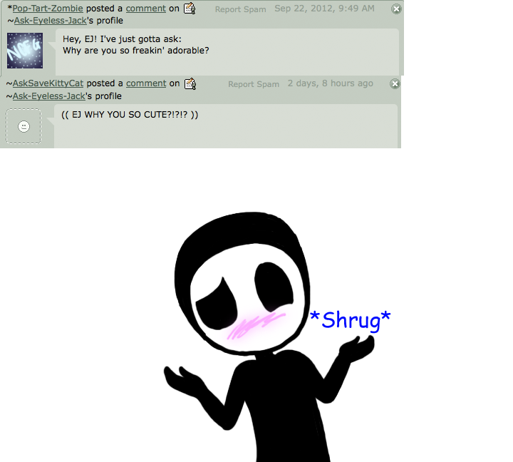 Eyeless Jack clipart funny By Ask Eyeless Question on