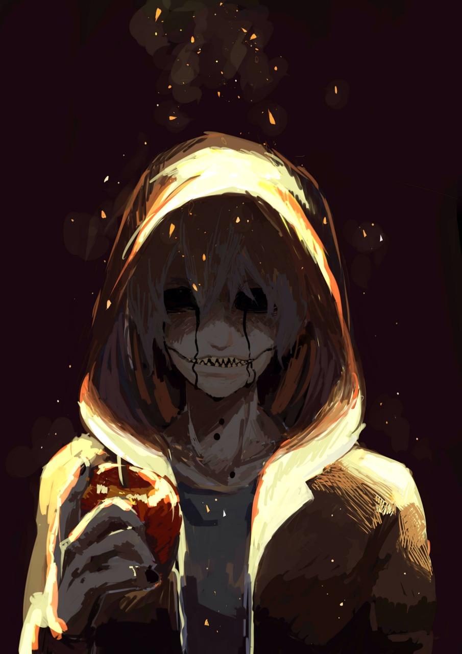 Eyeless Jack clipart hoodie Golden Golden Pinterest HoodiesEyeless ~