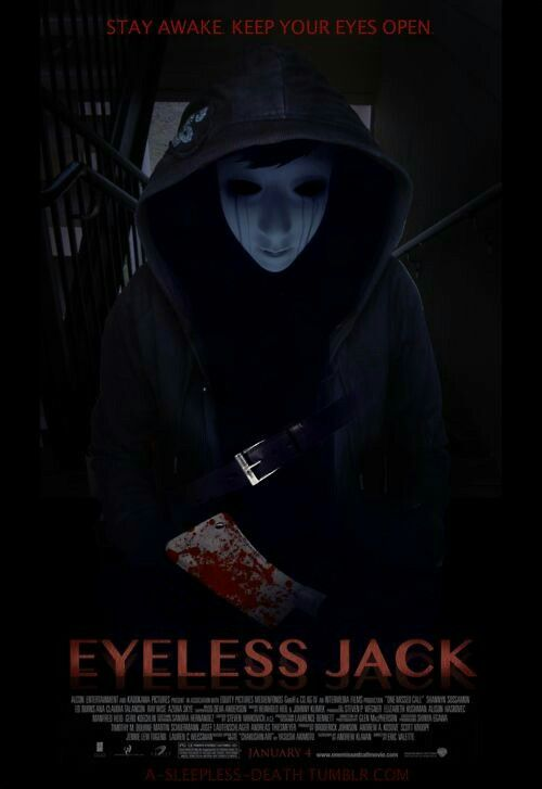 Eyeless Jack clipart realistic I on to movie know