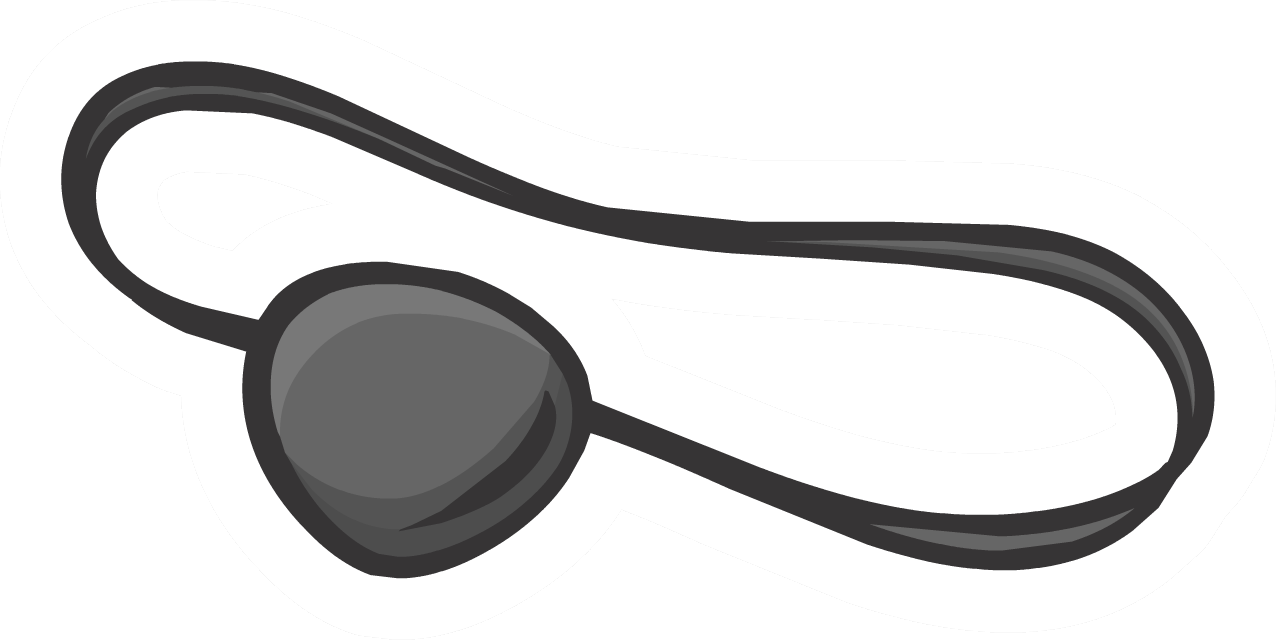 Eye-patch clipart #7