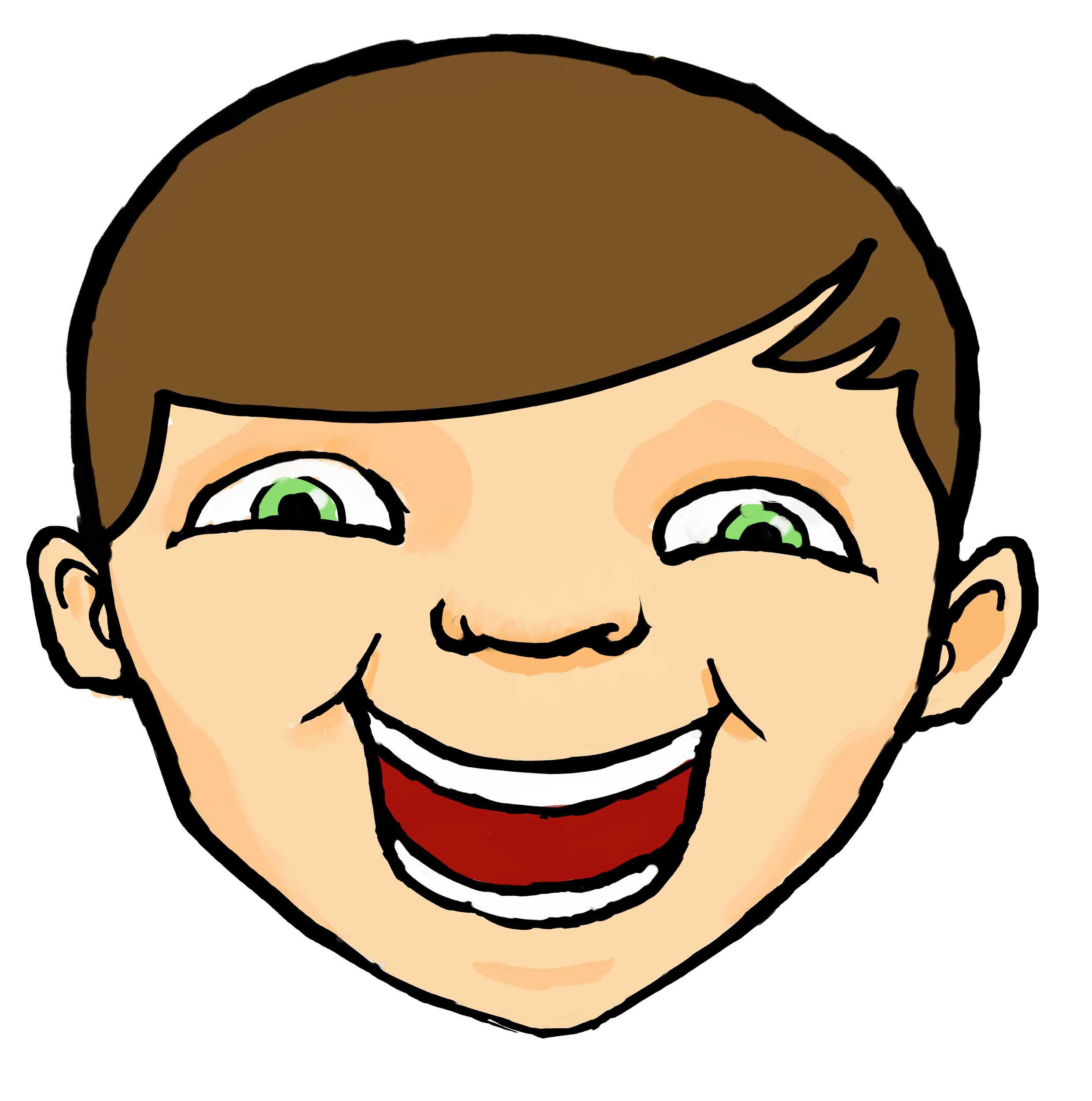 Freckles clipart happy kid face Free Clipart Panda Face happy%20kids%20face%20clipart