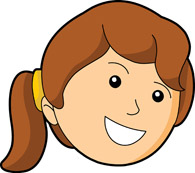 Face clipart Illustrations Pictures Clipart Graphics Girl