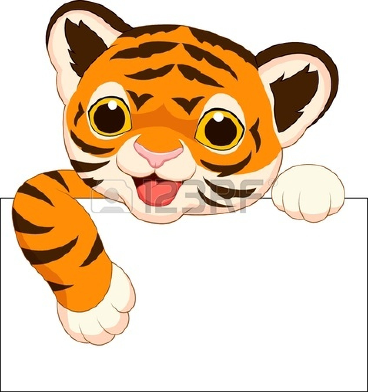 Bengal clipart cute tiger Panda Clipart Face Baby Tiger