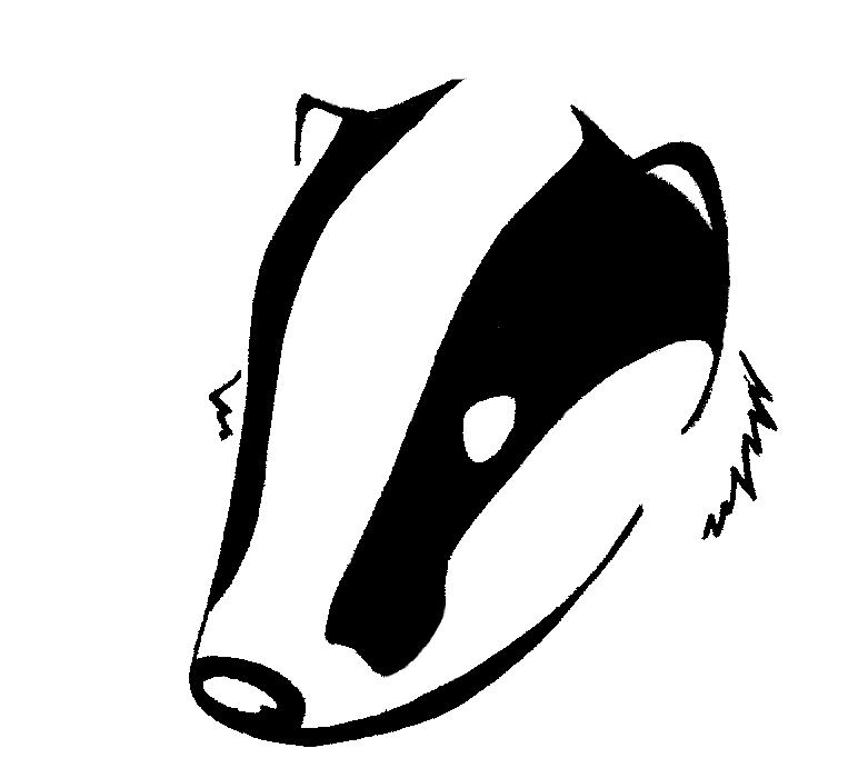 Honey Badger clipart tribal #1