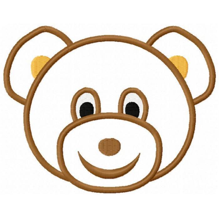 Teddy clipart head #8